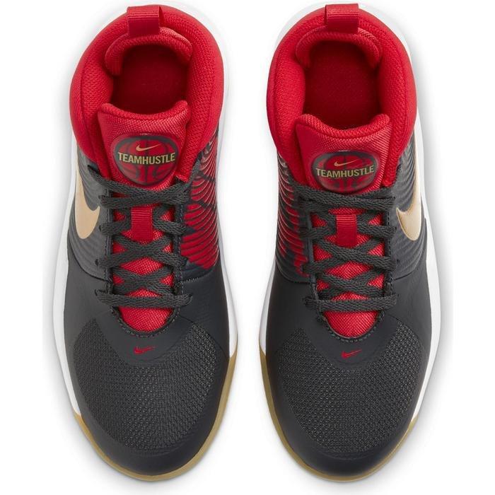 Team Hustle D 9 (Gs) Çocuk Siyah Basketbol Ayakkabısı AQ4224-011 1196511