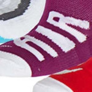 3Ppk Little Kids Graphic High Çocuk Çok Renkli Antrenman Çorabı SX4813-941