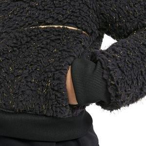 G Nsw Sherpa Shine Fz Bomr Pr Çocuk Siyah Günlük Stil Ceket CU8567-010