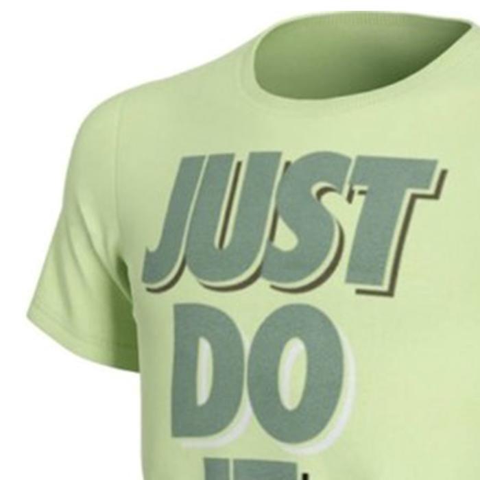U Nsw Tee JDI Stack Çocuk Yeşil Günlük Stil Tişört CU4569-355 1233253