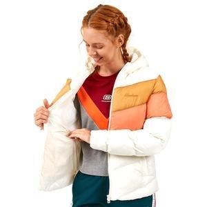 Outerwear W Padded Midweight Jacket Kadın Gri Günlük Stil Ceket S202128-034