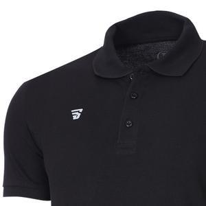 Polo Pike Erkek Siyah Basketbol Tişörtü TKU100107-SYH