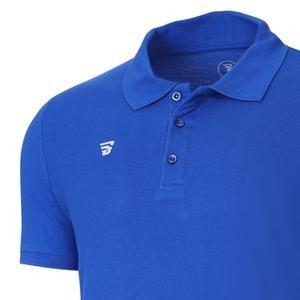 Polo Pike Erkek Mavi Basketbol Tişörtü TKU100107-SAX