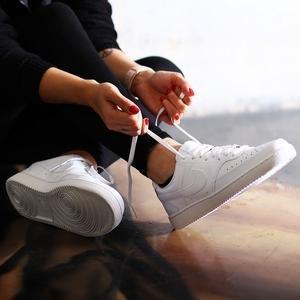 Court Vision Low Kadın Beyaz Günlük Ayakkabı CD5434-100