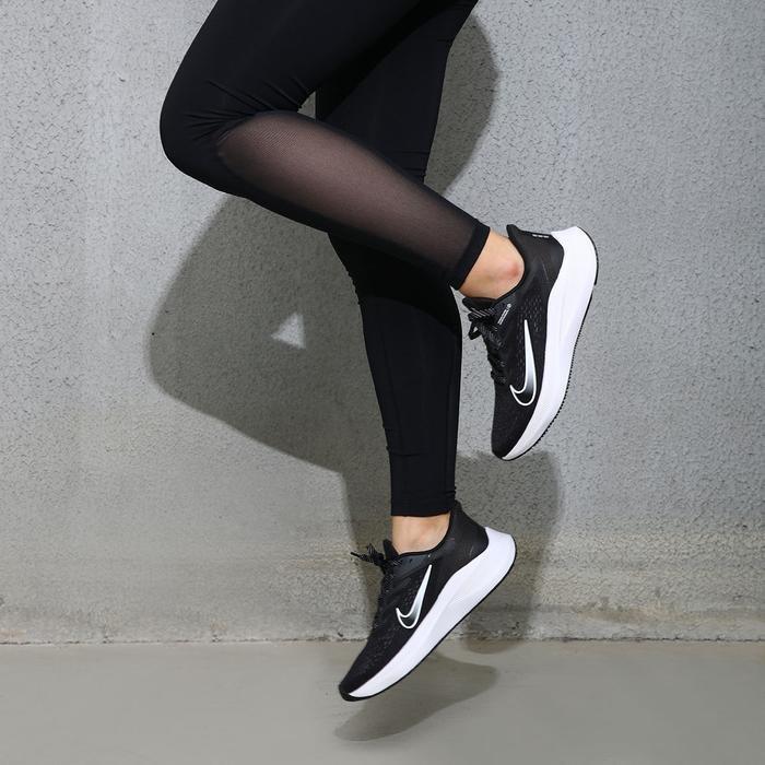 Zoom Winflo 7 Kadın Siyah Koşu Ayakkabısı CJ0302-005 1195599