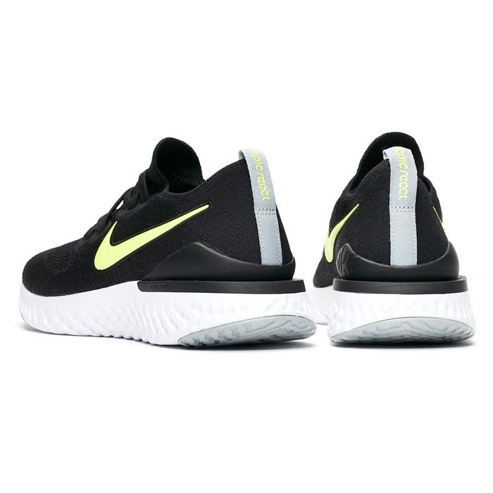 Epic React Flyknit 2 Erkek Siyah Koşu Ayakkabısı CI6401-001 1239703