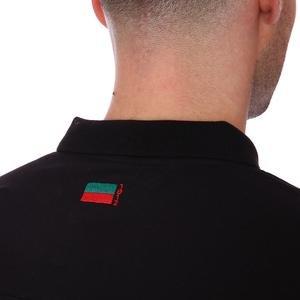 Karşıyaka Erkek Siyah Basketbol Polo Tişört TKY100136-SYH