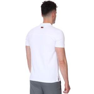 Karşıyaka Erkek Beyaz Basketbol Polo Tişört TKY100136-BYZ