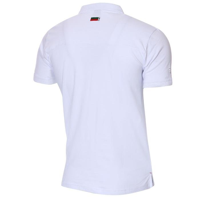 Karşıyaka Erkek Beyaz Basketbol Polo Tişört TKY100136-BYZ 1236335