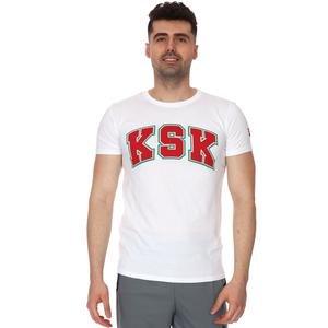 Karşıyaka Erkek Beyaz Basketbol Tişört TKY100141-BYZ