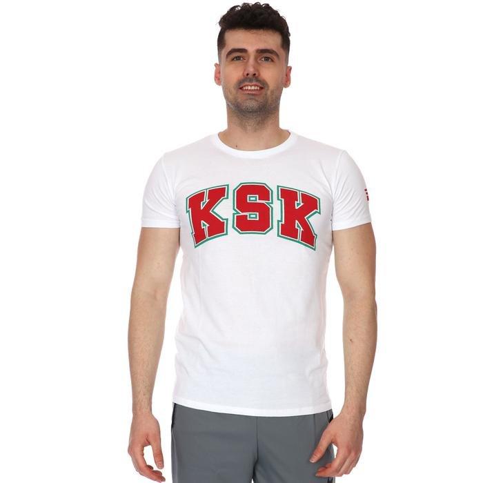 Karşıyaka Erkek Beyaz Basketbol Tişört TKY100141-BYZ 1236397