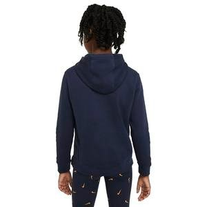 G Nsw Pe Pullover Çocuk Mavi Günlük Stil Sweatshirt BV2717-451