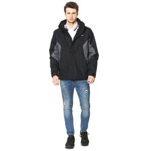 Wm1161 Eager Air interchange Jacket Erkek Siyah Outdoor Mont WM1161-010