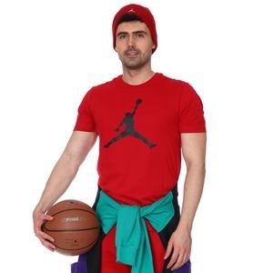 Jordan NBA Jumpman Fill Ss Crew Erkek Kırmızı Basketbol Tişörtü CZ6650-687