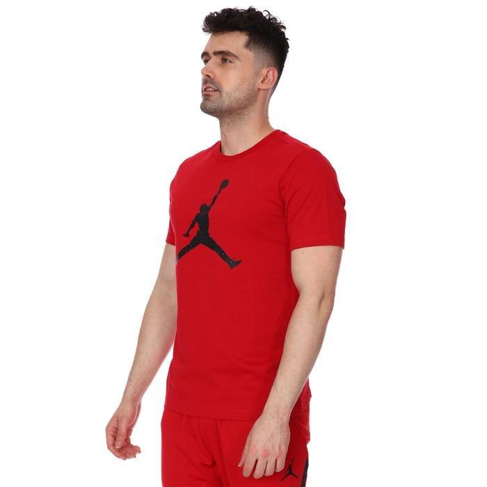 Jordan NBA Jumpman Fill Ss Crew Erkek Kırmızı Basketbol Tişörtü CZ6650-687 1233964