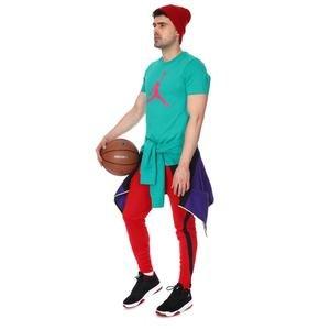 Jordan NBA Jumpman Erkek Yeşil Basketbol Tişörtü CZ6650-370