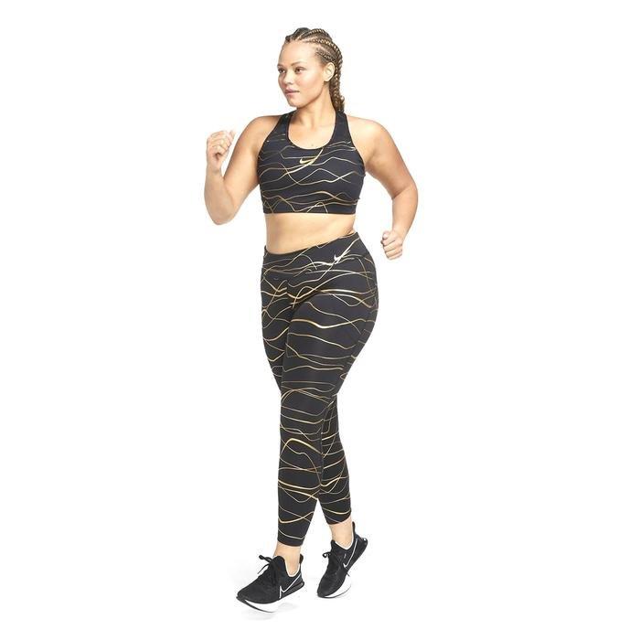 W Nk Icnclsh Fast Tight Kadın Siyah Koşu Tayt CU3333-010 1234064