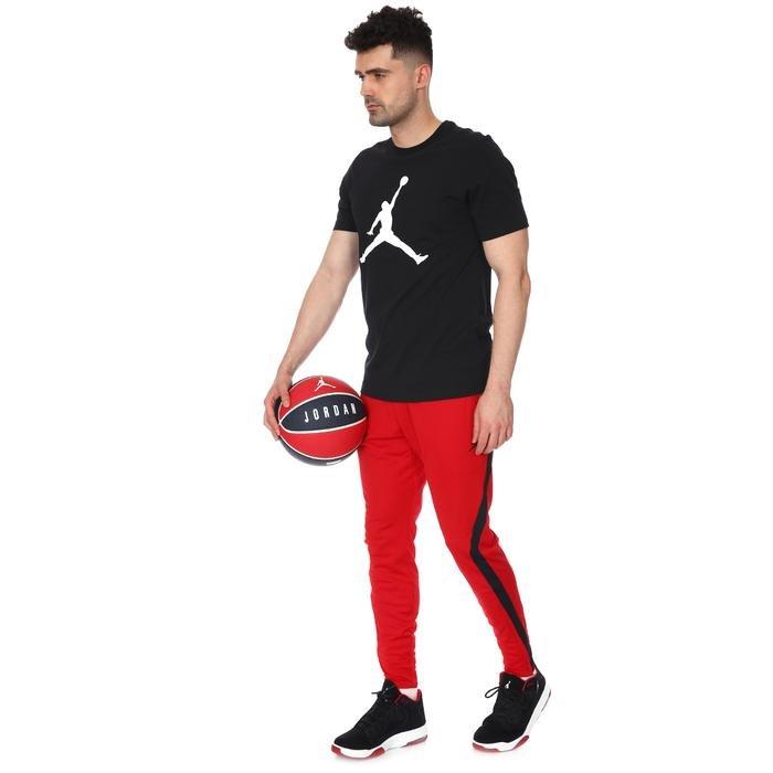 M Jordan NBA Jumpman Ss Crew Erkek Siyah Basketbol Tişört CJ0921-011 1174164