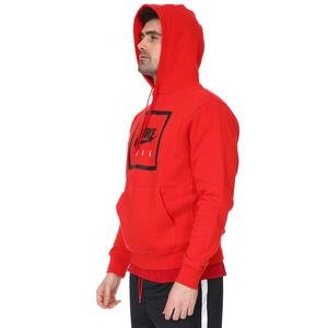 M Nsw Po Hoodie Air 5 Erkek Kırmızı Günlük Stil Sweatshirt CI1052-657