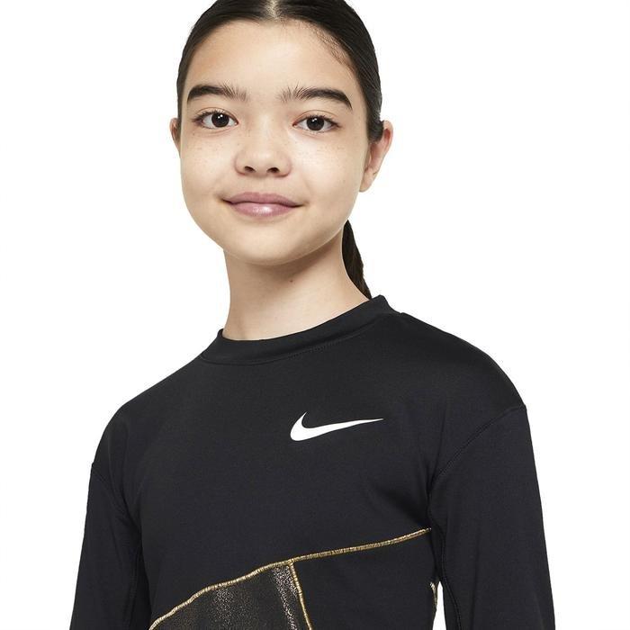 G Np Wm Top Ss Çocuk Siyah Günlük Stil Tişört CU8446-010 1234132
