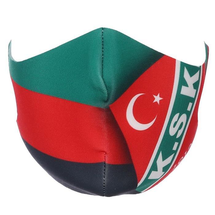 Karşıyaka Unisex Çok Renkli Maske TKY100166-LGO 1267111