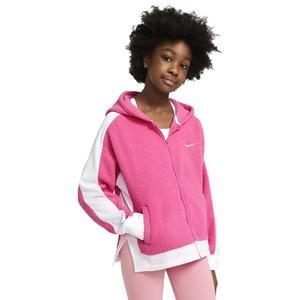 G Nk Therma Winterized Fz Hd Çocuk Kırmızı Günlük Stil Sweatshirt CU8442-684