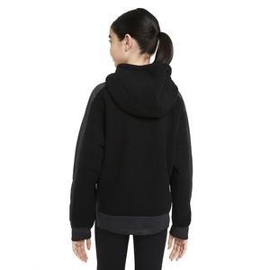 G Nk Therma Winterized Fz Hd Çocuk Siyah Günlük Stil Sweatshirt CU8442-010