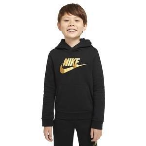 B Nsw Club + Hbr Po Çocuk Siyah Günlük Stil Sweatshirt CJ7861-013