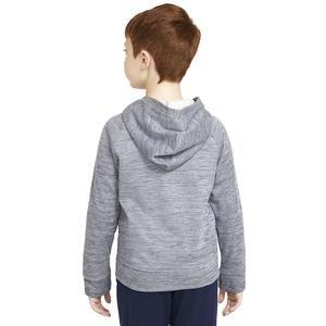 B Nk Therma Gfx Fz Hoodie Çocuk Mavi Günlük Stil Sweatshirt CU9087-410