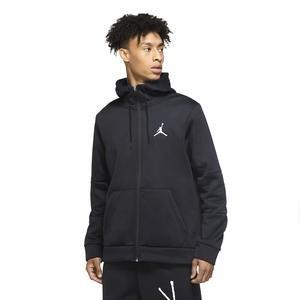 M Jordan NBA Air Therma Flc Fz Erkek Siyah Basketbol Sweatshirt CK6782-010