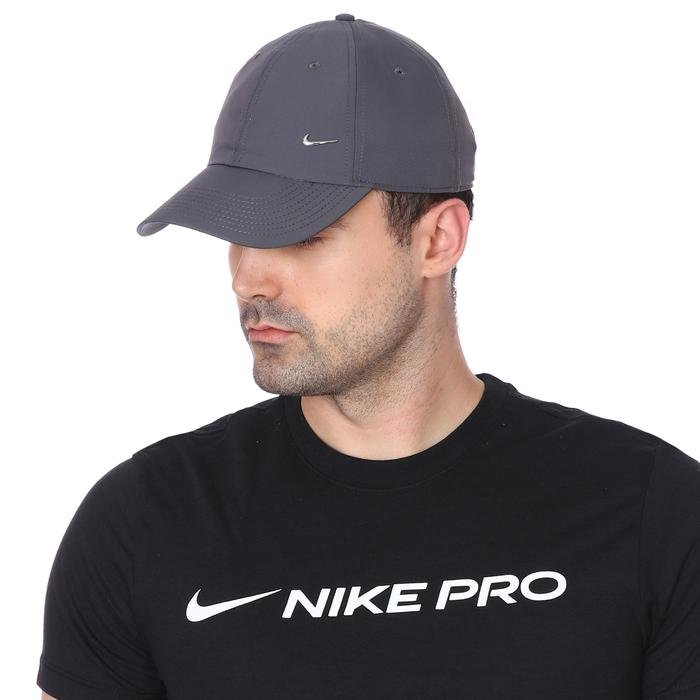 Metal Swoosh Unisex Gri Şapka 943092-021 1056993