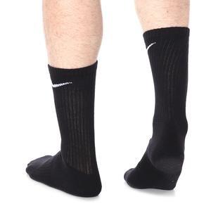 Evry Cush Crew 3Pr Çocuk Siyah/Gri/Gümüş Antrenman Çorap SX6842-010