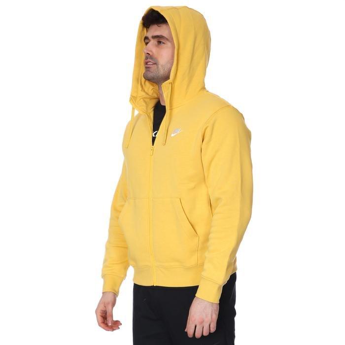 M Nsw Club Hoodie Fz Bb Erkek Sarı Günlük Sweatshirt BV2645-761 1233683