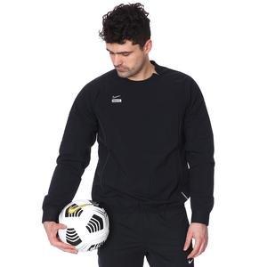 M Nk Fc Wvn Midlayer Crew Erkek Siyah Futbol Uzun Kollu Tişört CT2516-010