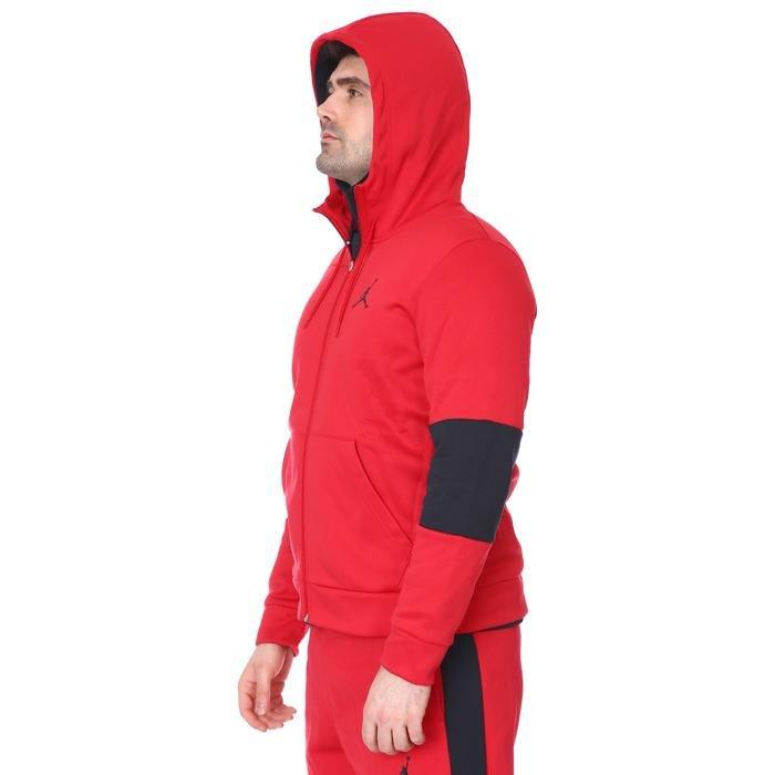 M Jordan NBA Air Therma Flc Fz Erkek Kırmızı Basketbol Sweatshirt CK6782-687 1233570