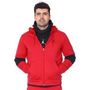 M Jordan NBA Air Therma Flc Fz Erkek Kırmızı Basketbol Sweatshirt CK6782-687