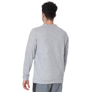 Dry Fleece Crew Erkek Gri Uzun Kollu Futbol Tişörtü CU6795-063