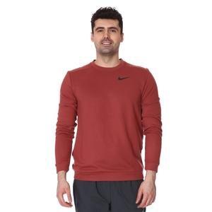 M Nk Dry Fleece Crew Erkek Kırmızı Futbol Uzun Kollu Tişört CU6795-652