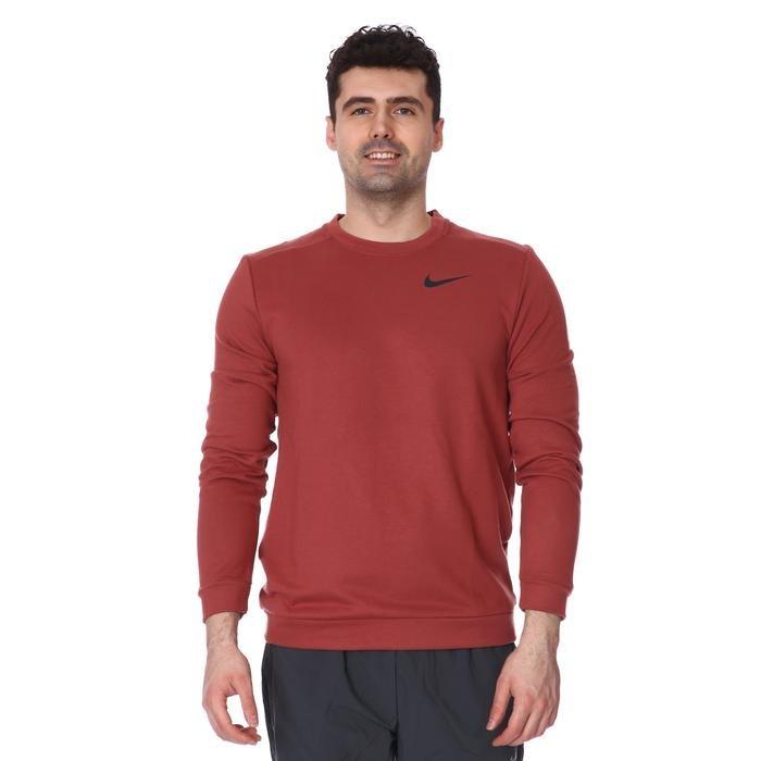 M Nk Dry Fleece Crew Erkek Kırmızı Futbol Uzun Kollu Tişört CU6795-652 1233419
