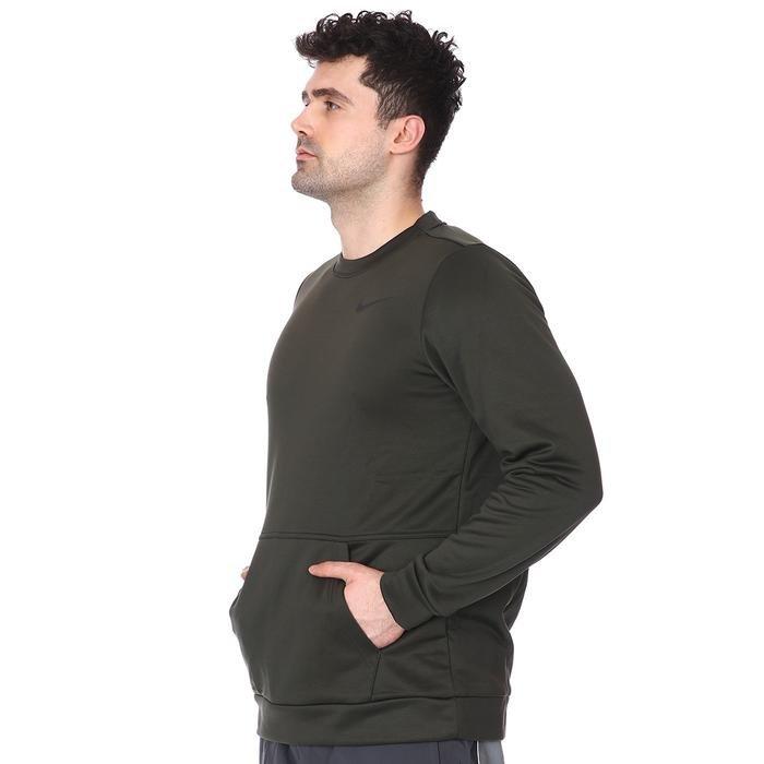 M Nk Tf Top Ls Crw Erkek Yeşil Günlük Uzun Kollu Tişört CU7271-355 1233818