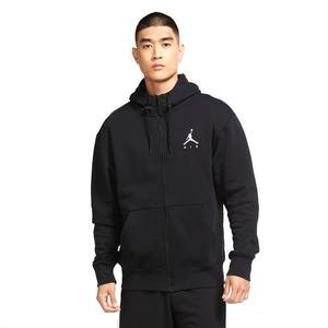 Jordan NBA Jumpman Air Fleece Fz Erkek Siyah Basketbol Sweatshirt CK6679-010