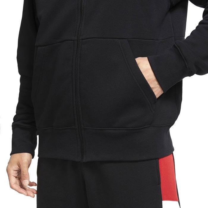 Jordan NBA Jumpman Air Fleece Fz Erkek Siyah Basketbol Sweatshirt CK6679-010 1233553