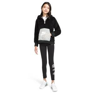G Nsw Air Sherpa Hz Hoodie Çocuk Siyah Günlük Stil Sweatshirt CU8550-010