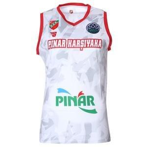 Karşıyaka Camo Erkek Beyaz Basketbol Forma TKY100170-BYZ