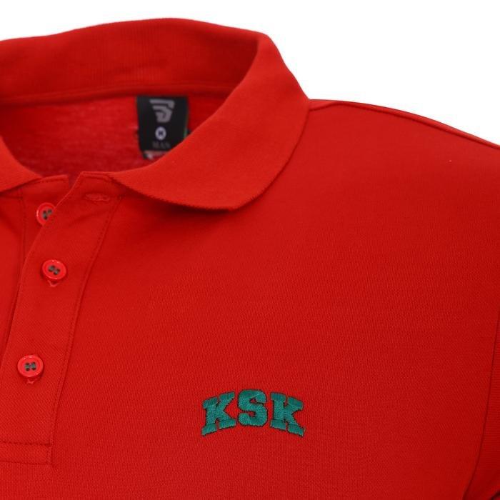 Karşıyaka Erkek Kırmızı Basketbol Polo Tişört TKY100136-KRM 1236348