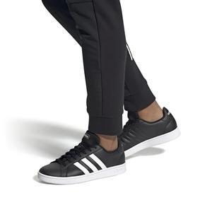 Grand Court Base Erkek Siyah Günlük Ayakkabı EE7900