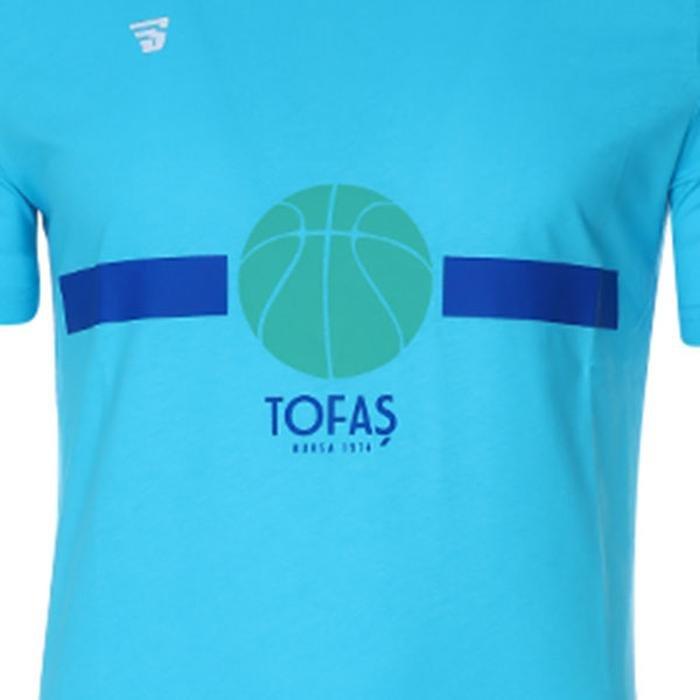 Tofaş Erkek Turkuaz Basketbol Tişört TKT100104-TUR-TOF 1270560