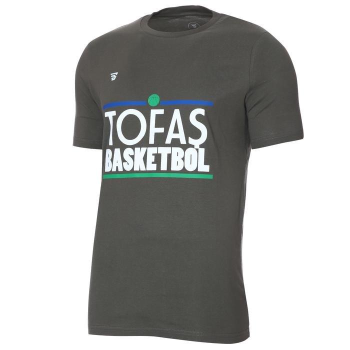 Tofaş Erkek Haki Basketbol Tişört TKT100104-HKI-TOF 1270573