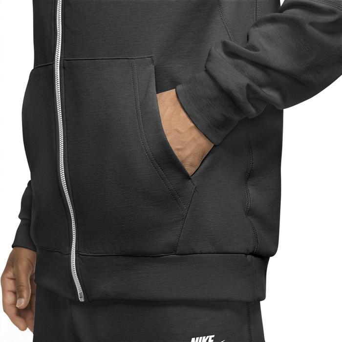 M Nsw Modern Erkek Siyah Günlük Stil Sweatshirt CU4455-010 1233432