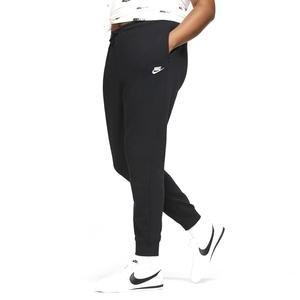 W Nsw Essntl Flc Mr Pnt Plus Kadın Siyah Günlük Stil Eşofman Altı CJ0412-010